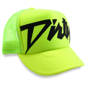 trendy neon trucker hats for summer season