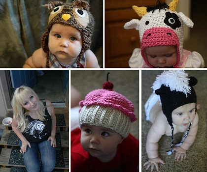 All About Knitted Baby Hats