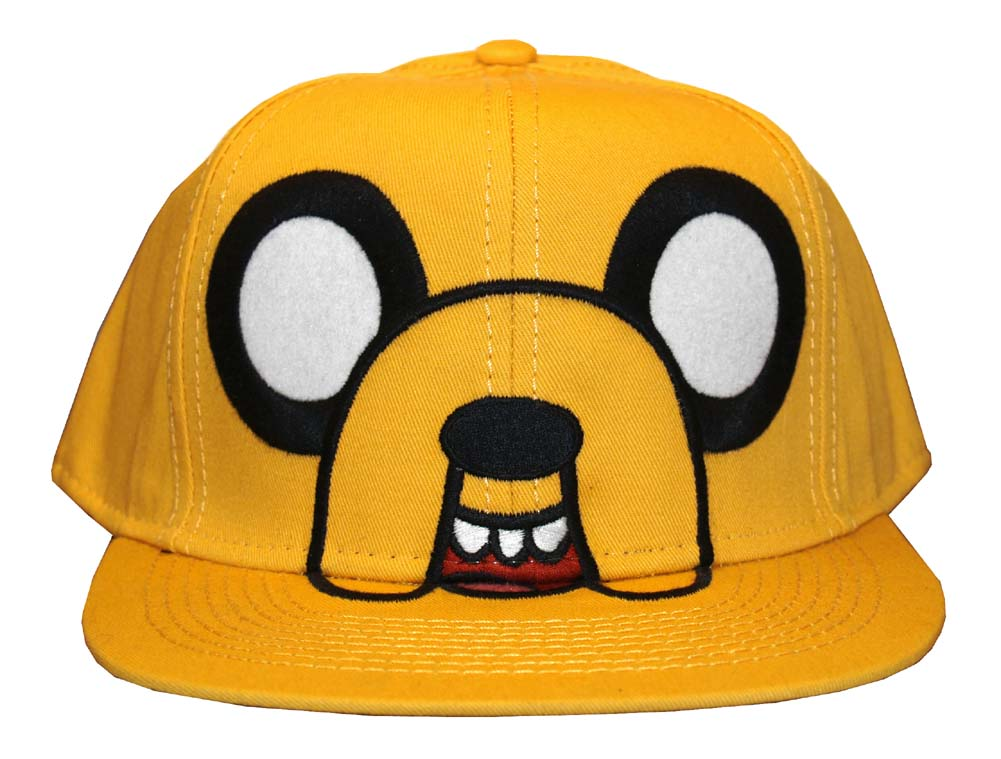 Authentic Adventure Time Flat Bill Hats