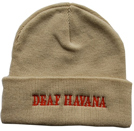 Cool Deaf Havana Embroidered Beanie Hats