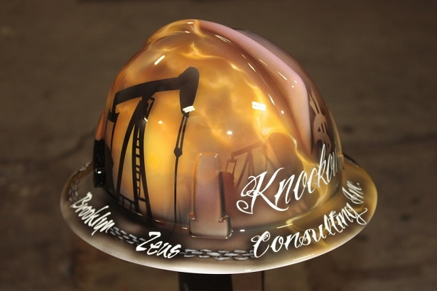 Creative Custom Painted Hard Hats