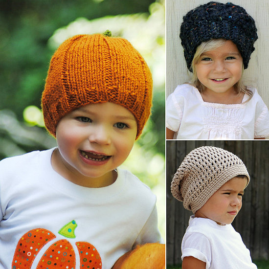 Cute Kids Knit Winter Hats
