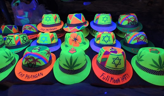 Discover Fun Neon Party Hats