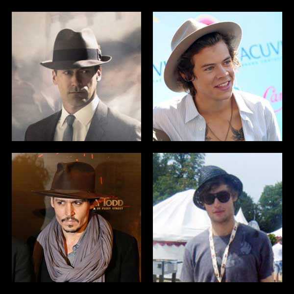Find Trendy Straw Fedora Hats For Men