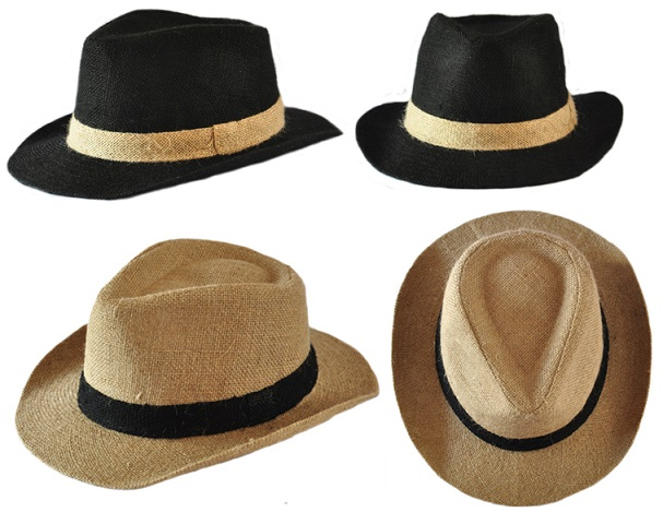 Dress hats for men bring stately sophistication to your dressed up look. We've got warm-weather formal fedoras for summertime wear and tasteful men's winter dress hats that you can sport to all your mid-winter functions. Men's dress hats made from luxury materials and with added details such as bows or feathers take an outfit from fitting.