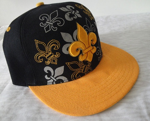 Kids Embroidered Fitted Hats