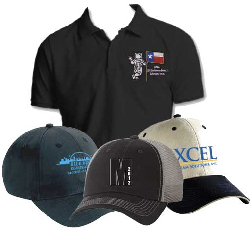 Custom embroidery hats trucker hats for Cheap t shirt printing houston
