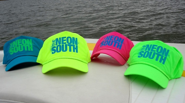 Shop for Neon Green Defend Snapback Hats