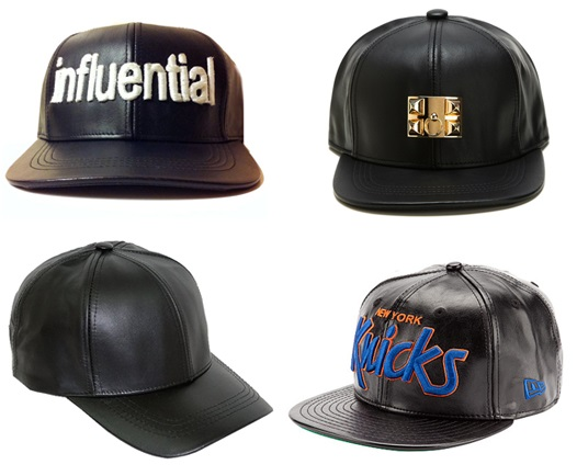Shop for Original Leather Snapback Hats