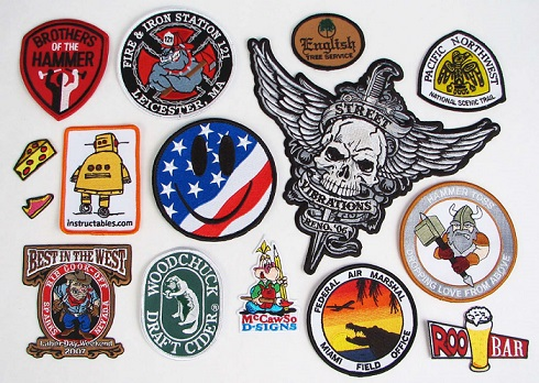 Top Quality Custom Embroidery Patches