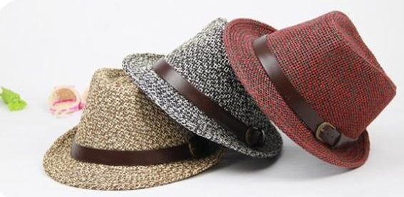 Trendy Fedora Cool Summer Hats For Men
