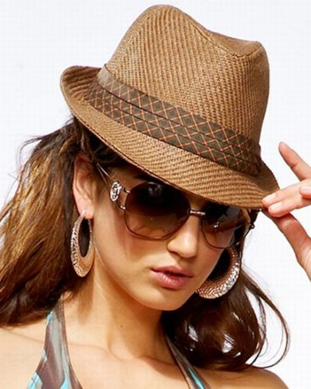 Stylish Straw Fedora Hats
