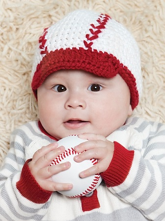 Buy Cute Personalized Baby Baseball Caps