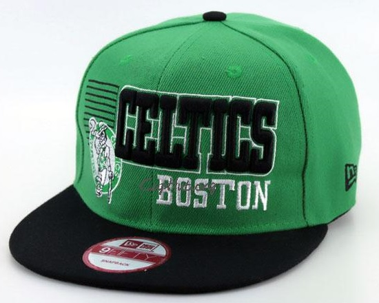Celtics Boston Fitted Flat Brim Hats