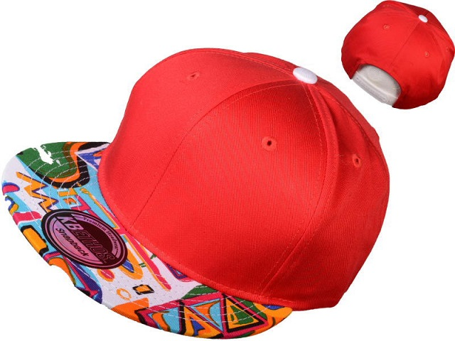 Cool Red Wholesale Blank Snapback Hats