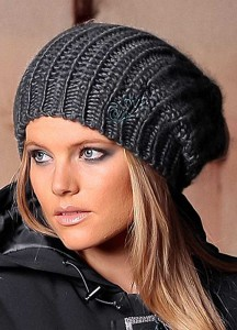 gray knitted hats